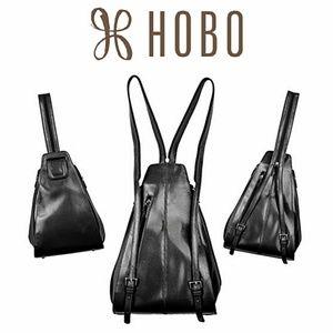 HOBO International Leather Backpack Purse